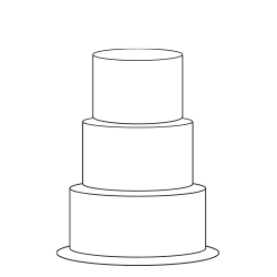 THREE TIER - ROUND